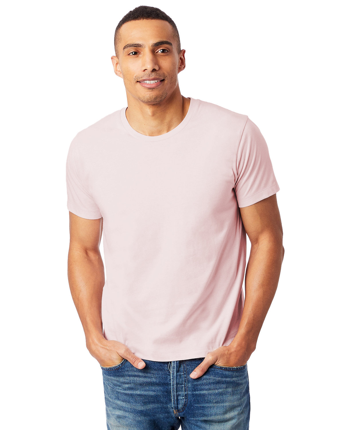 Alternative Unisex Go-To T-Shirt FADED PINK