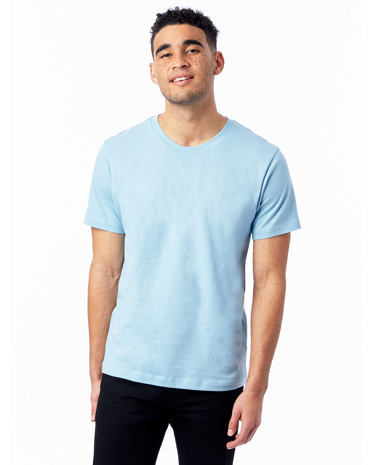 Alternative Unisex Go-To T-Shirt LIGHT BLUE