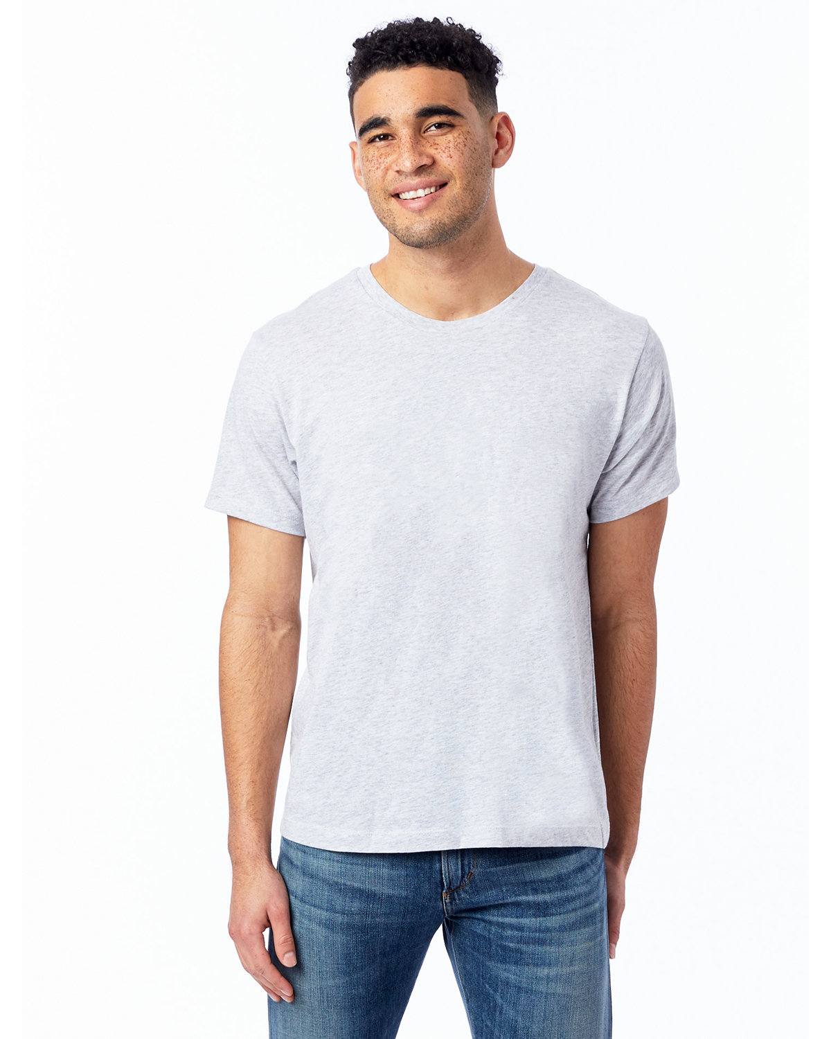 Alternative Unisex Go-To T-Shirt LT HEATHER GREY