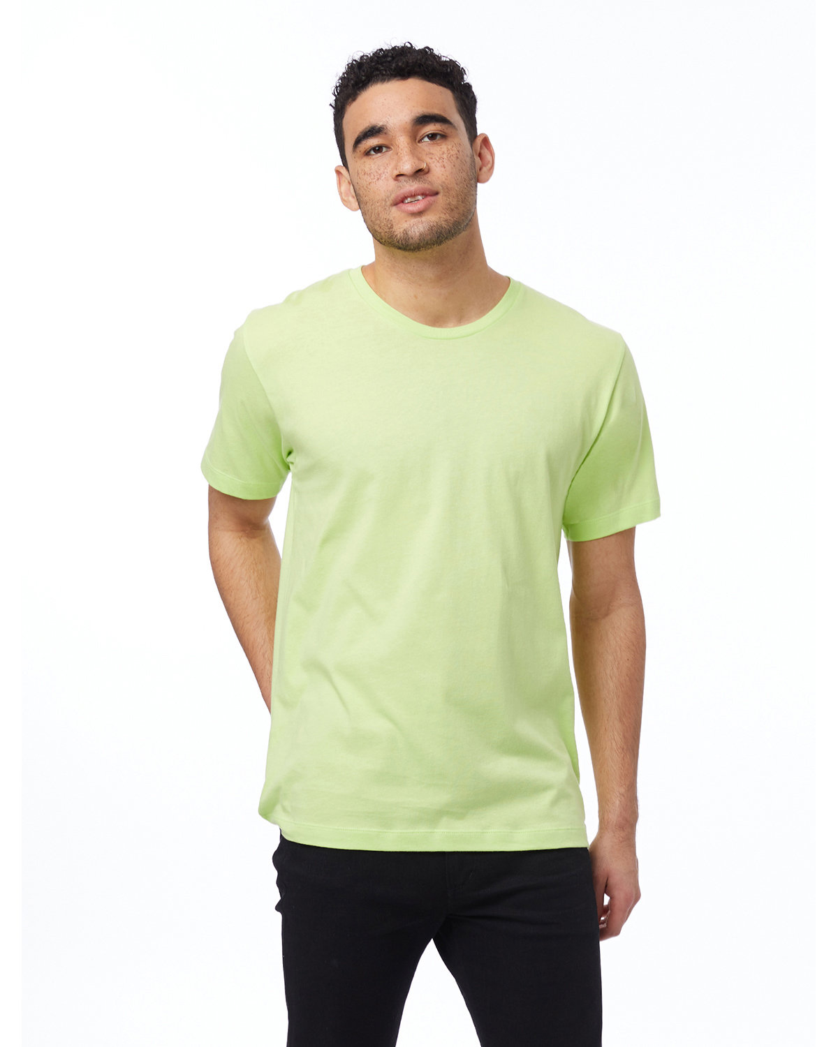 Alternative Unisex Go-To T-Shirt HIGHLIGHTER YLW