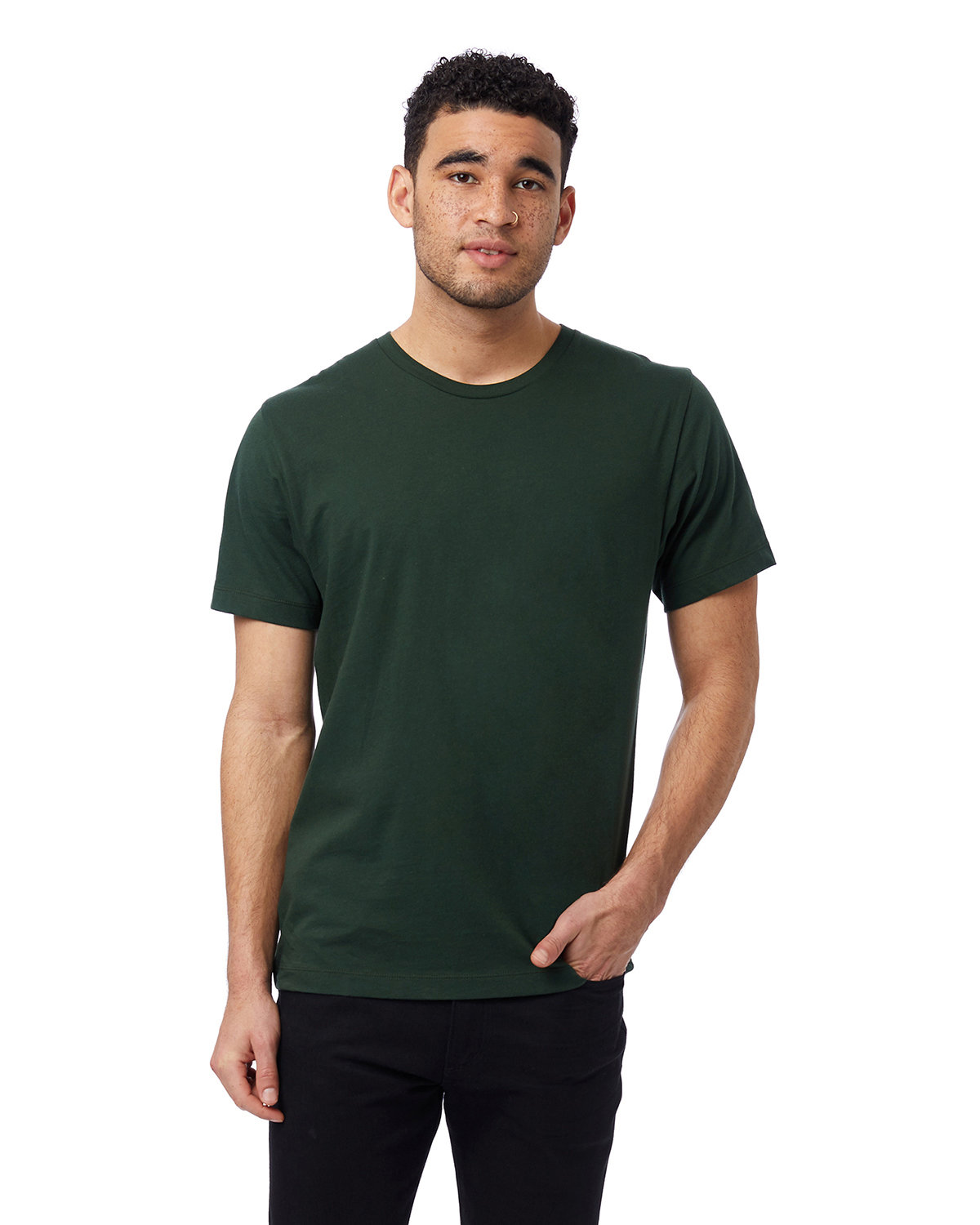 Alternative Unisex Go-To T-Shirt VARSITY GREEN