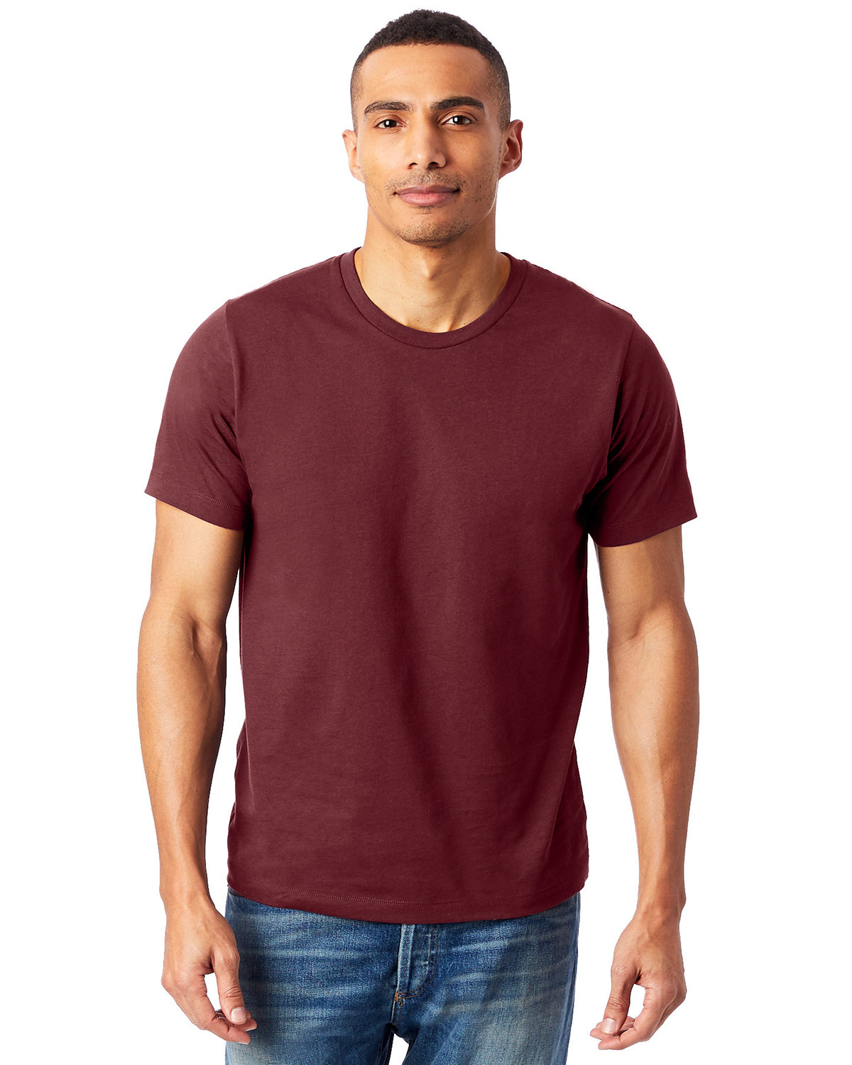 Alternative Unisex Go-To T-Shirt CURRANT