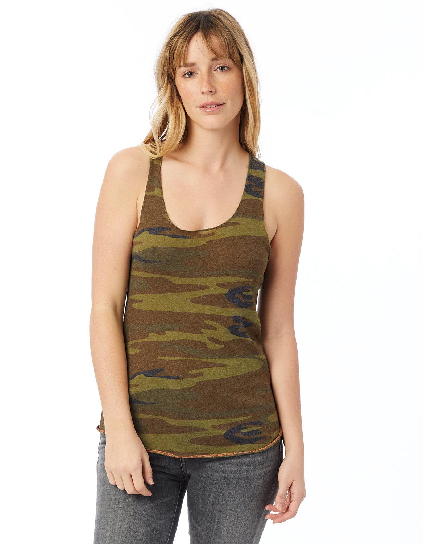 Alternative Ladies' Meegs Printed Racerback Eco-Jersey™ Tank CAMO
