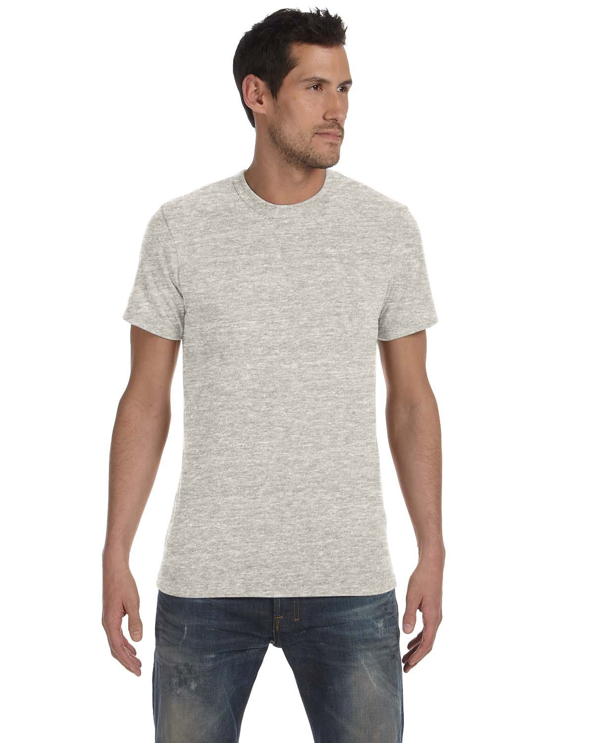 Alternative Unisex Eco-Jersey™ Crew ECO LIGHT GREY