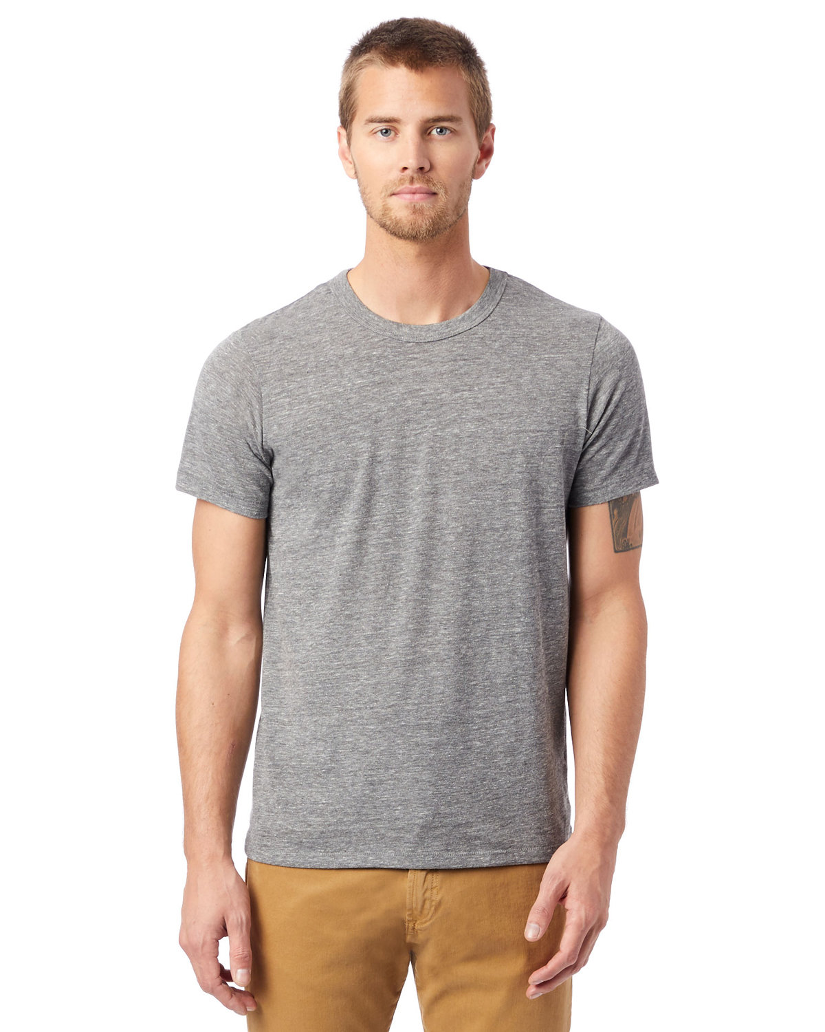 Alternative Unisex Eco-Jersey™ Crew ECO GREY