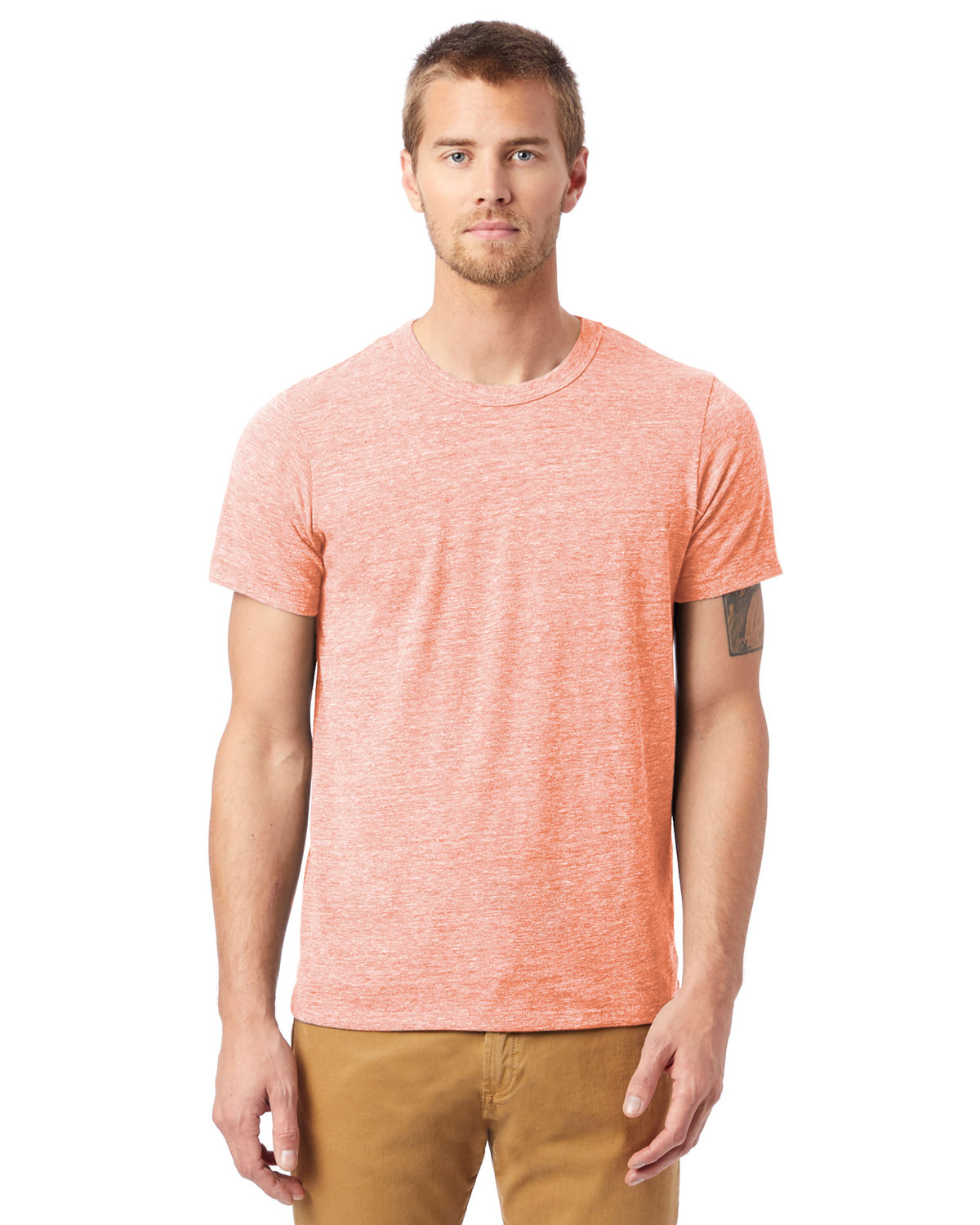 Alternative Unisex Eco-Jersey™ Crew ECO RED