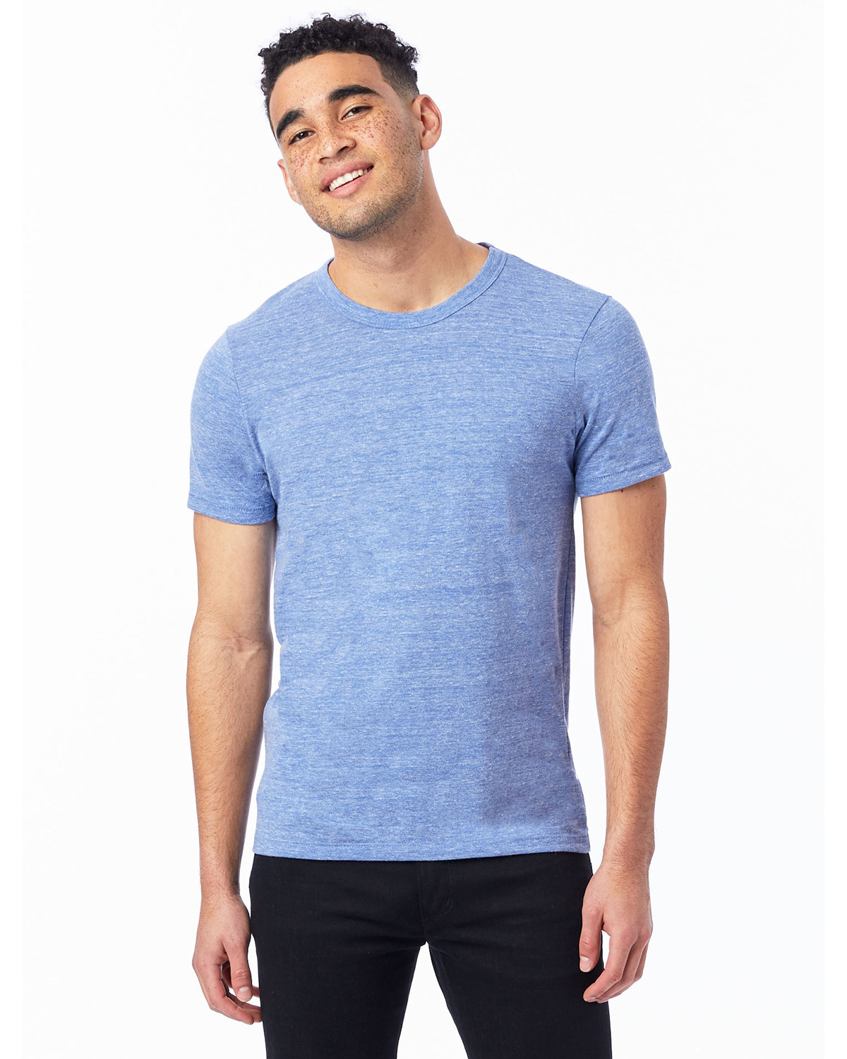 Alternative Unisex Eco-Jersey™ Crew ECO PACIFIC BLUE