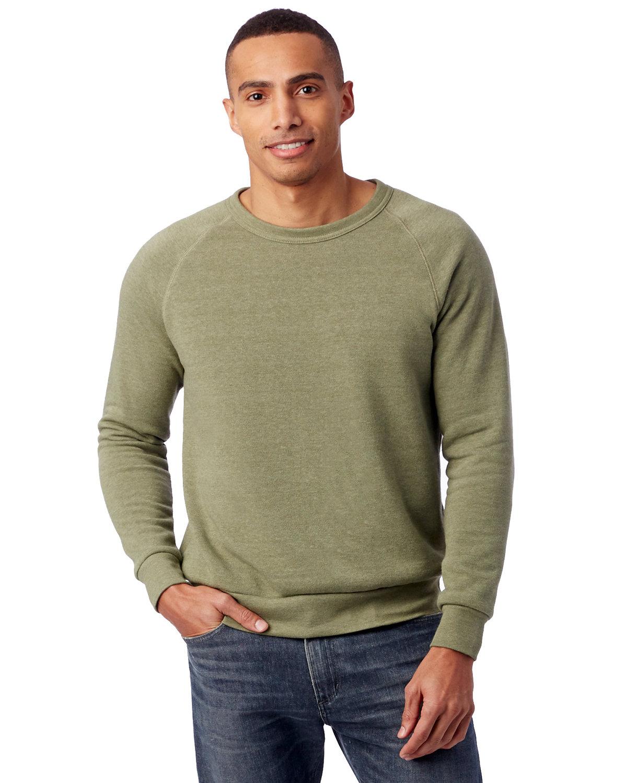 Alternative Unisex Champ Eco-Fleece Solid Sweatshirt ECO TR ARMY GRN