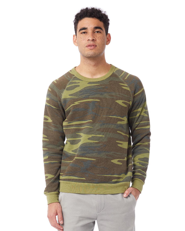 Alternative Unisex Champ Eco-Fleece Solid Sweatshirt CAMO