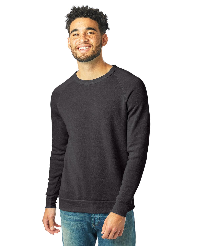 Alternative Unisex Champ Eco-Fleece Solid Sweatshirt ECO TRUE BLACK