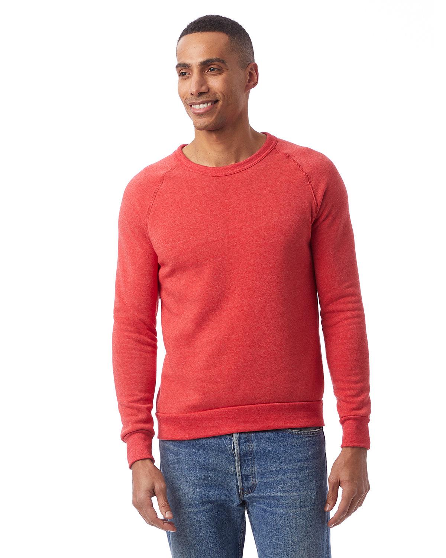 Alternative Unisex Champ Eco-Fleece Solid Sweatshirt ECO TRUE RED