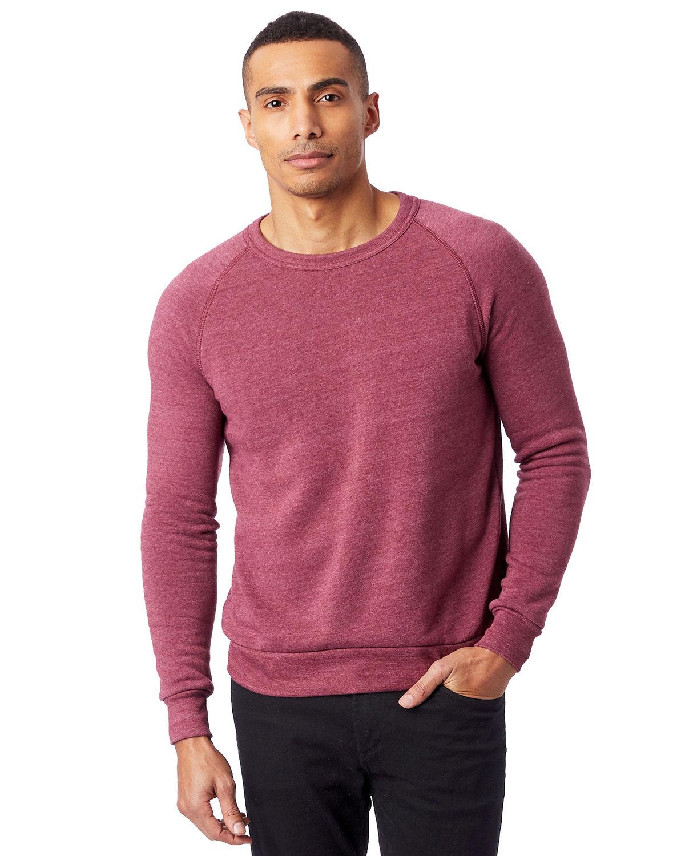 Alternative Unisex Champ Eco-Fleece Solid Sweatshirt ECO TRUE CURRANT