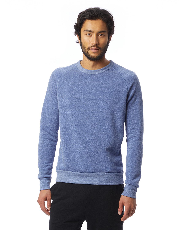 Alternative Unisex Champ Eco-Fleece Solid Sweatshirt ECO PACIF BLUE