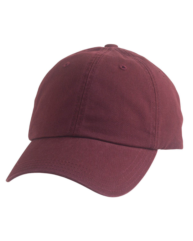 Alternative Basic Chino Twill Cap MAROON