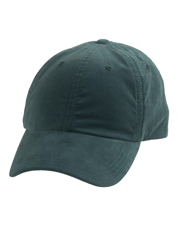 Alternative Basic Chino Twill Cap DRK GRN CORDUROY