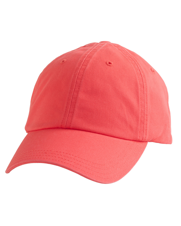 Alternative Basic Chino Twill Cap HOT CORAL