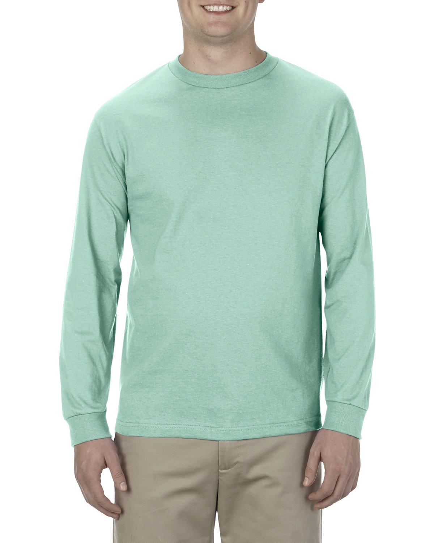 Alstyle Adult 6.0 oz., 100% Cotton Long-Sleeve T-Shirt CELADON