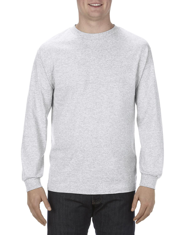 Alstyle Adult 6.0 oz., 100% Cotton Long-Sleeve T-Shirt ASH