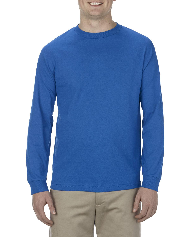 Alstyle Adult 6.0 oz., 100% Cotton Long-Sleeve T-Shirt ROYAL