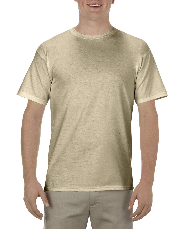 Alstyle Adult 5.5 oz., 100% Soft Spun Cotton T-Shirt SAND
