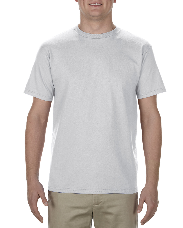 Alstyle Adult 5.5 oz., 100% Soft Spun Cotton T-Shirt SILVER