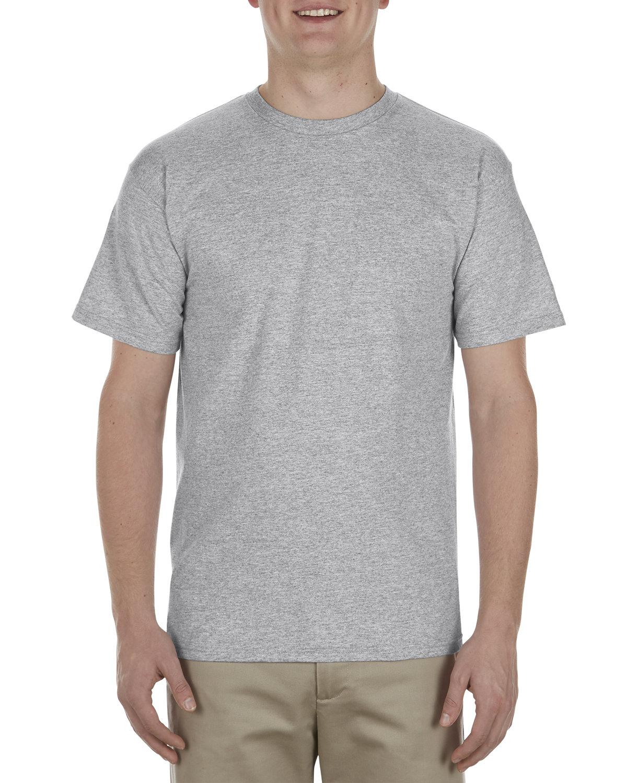 Alstyle Adult 5.5 oz., 100% Soft Spun Cotton T-Shirt ATHLETIC HEATHER