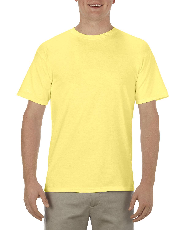 Alstyle Adult 5.5 oz., 100% Soft Spun Cotton T-Shirt BANANA