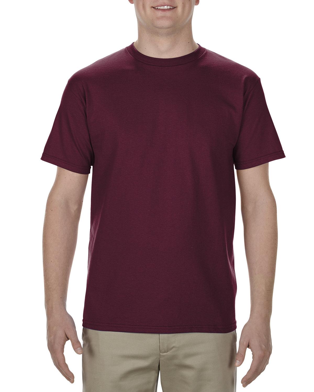 Alstyle Adult 5.5 oz., 100% Soft Spun Cotton T-Shirt BURGUNDY