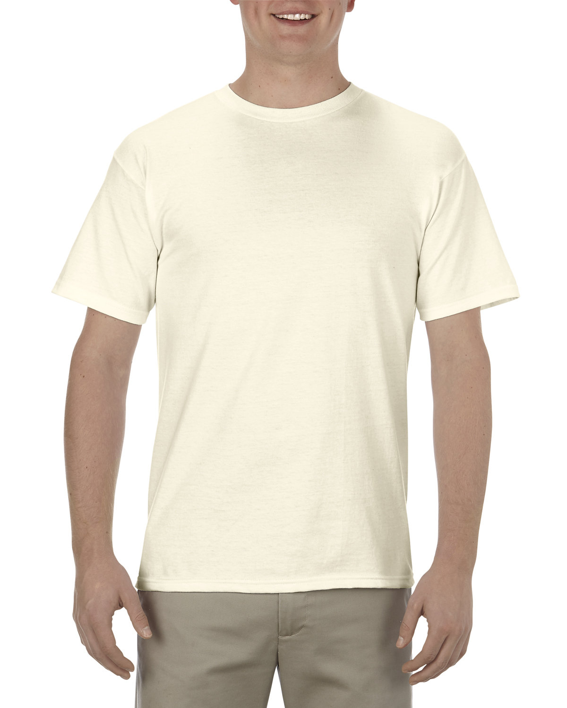 Alstyle Adult 5.5 oz., 100% Soft Spun Cotton T-Shirt CREAM