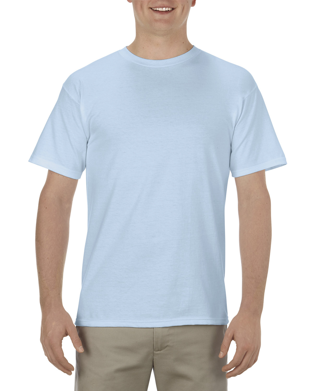 Alstyle Adult 5.5 oz., 100% Soft Spun Cotton T-Shirt POWDER BLUE
