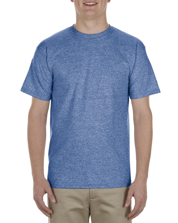 Alstyle Adult 5.5 oz., 100% Soft Spun Cotton T-Shirt ROYAL HEATHER