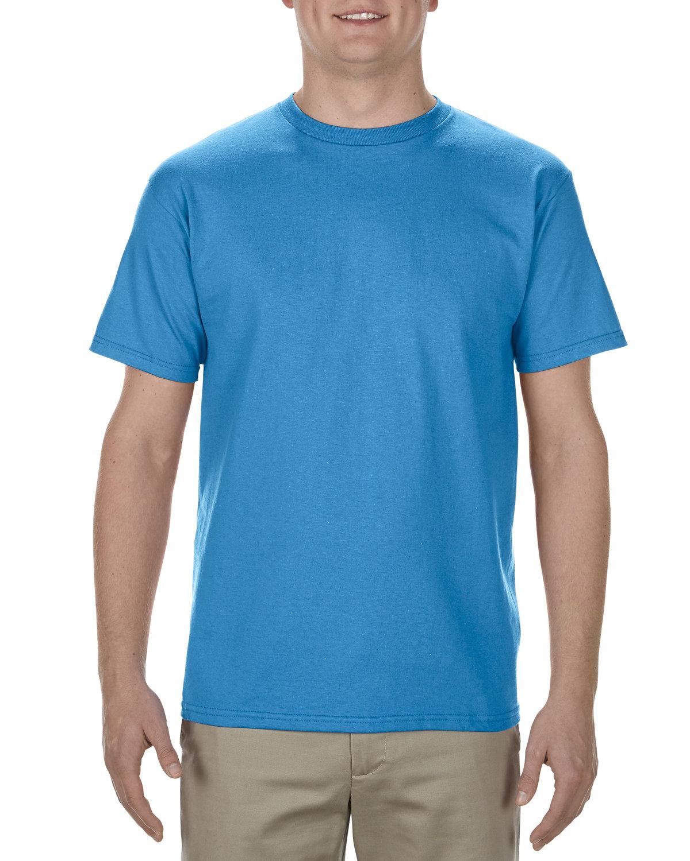 Alstyle Adult 5.5 oz., 100% Soft Spun Cotton T-Shirt TURQUOISE