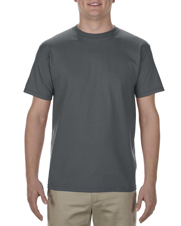 Alstyle Adult 5.5 oz., 100% Soft Spun Cotton T-Shirt CHARCOAL
