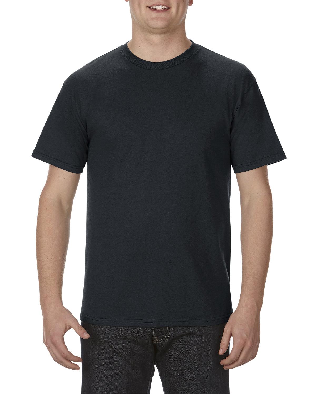 Alstyle Adult 5.5 oz., 100% Soft Spun Cotton T-Shirt BLACK