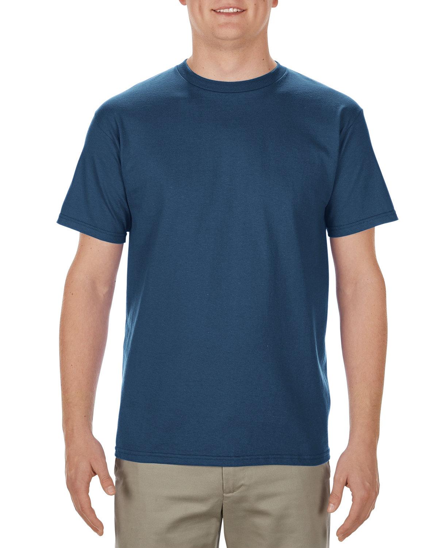 Alstyle Adult 5.5 oz., 100% Soft Spun Cotton T-Shirt ROYAL