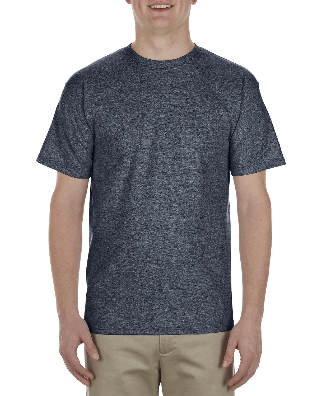 Alstyle Adult 5.5 oz., 100% Soft Spun Cotton T-Shirt NAVY HEATHER