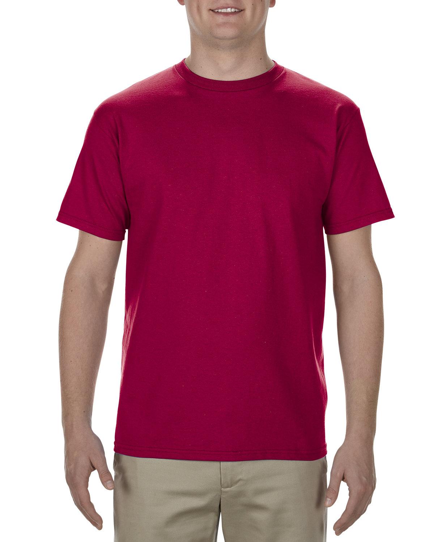 Alstyle Adult 5.5 oz., 100% Soft Spun Cotton T-Shirt CARDINAL
