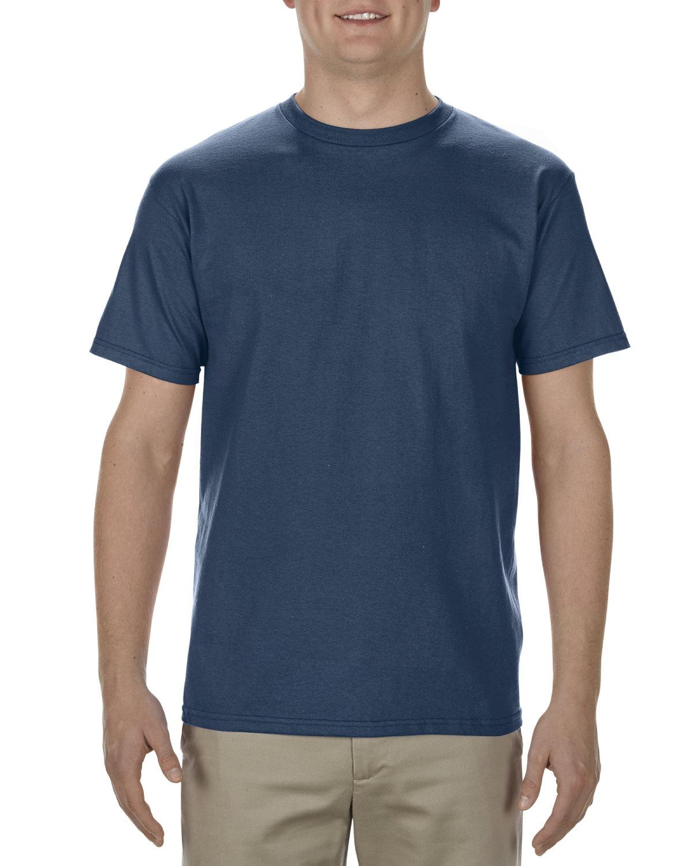 Alstyle Adult 5.5 oz., 100% Soft Spun Cotton T-Shirt HARBOR BLUE