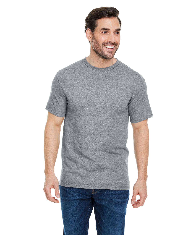 Alstyle Adult 5.5 oz., 100% Soft Spun Cotton T-Shirt GREY HEATHER