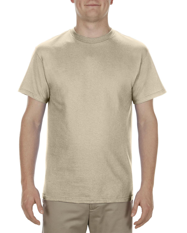 Alstyle Adult 5.1 oz., 100% Cotton T-Shirt SAND