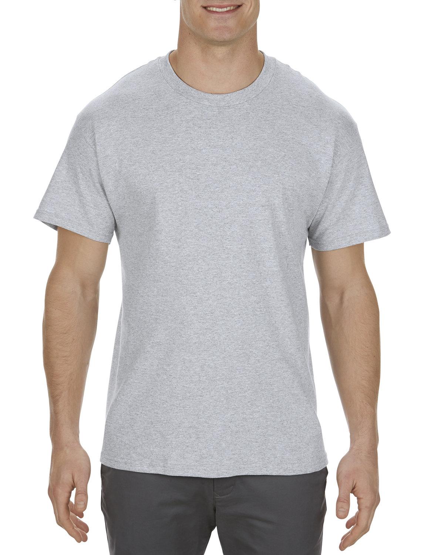 Alstyle Adult 5.1 oz., 100% Cotton T-Shirt ATHLETIC HEATHER