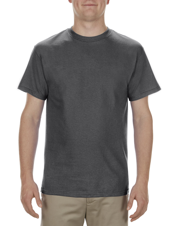 Alstyle Adult 5.1 oz., 100% Cotton T-Shirt CHARCOAL HEATHER