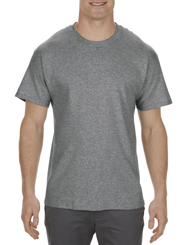 Alstyle Adult 5.1 oz., 100% Cotton T-Shirt GRAPHITE HEATHER