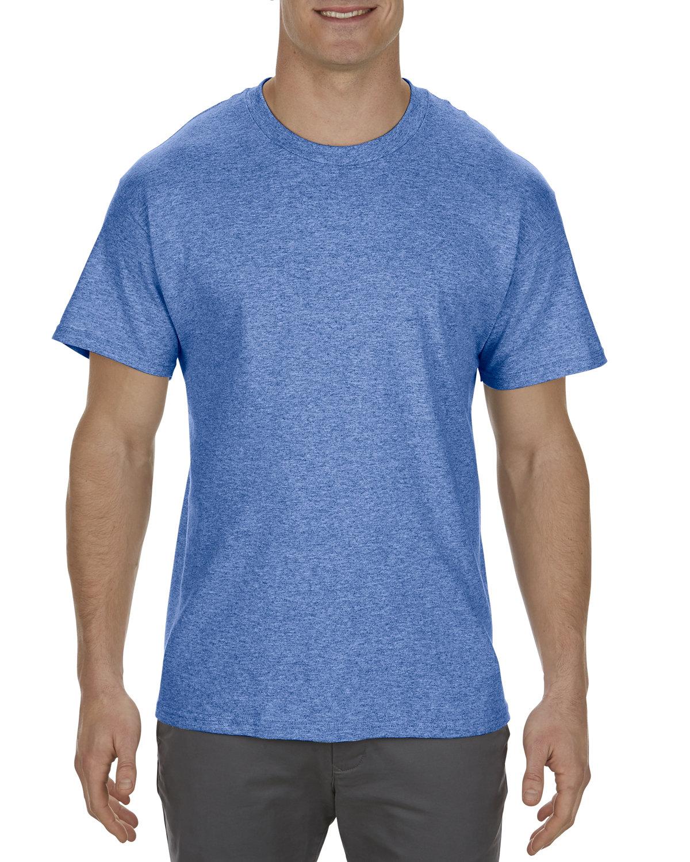 Alstyle Adult 5.1 oz., 100% Cotton T-Shirt ROYAL HEATHER