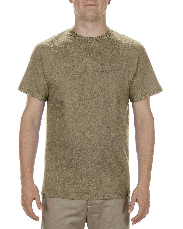 Alstyle Adult 5.1 oz., 100% Cotton T-Shirt SAFARI GREEN