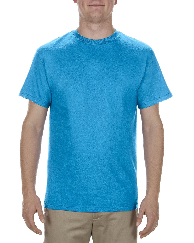 Alstyle Adult 5.1 oz., 100% Cotton T-Shirt TURQUOISE