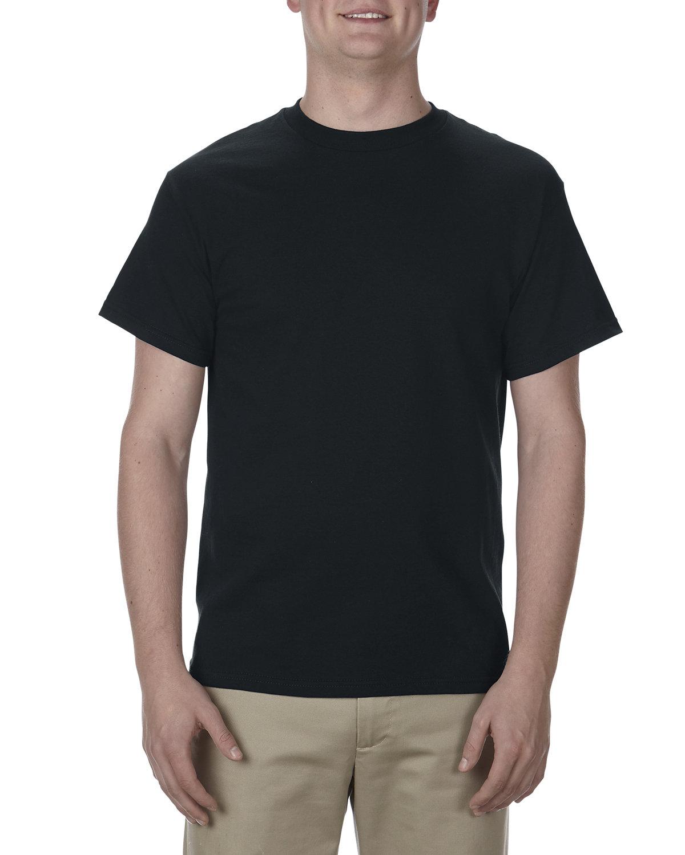Alstyle Adult 5.1 oz., 100% Cotton T-Shirt BLACK