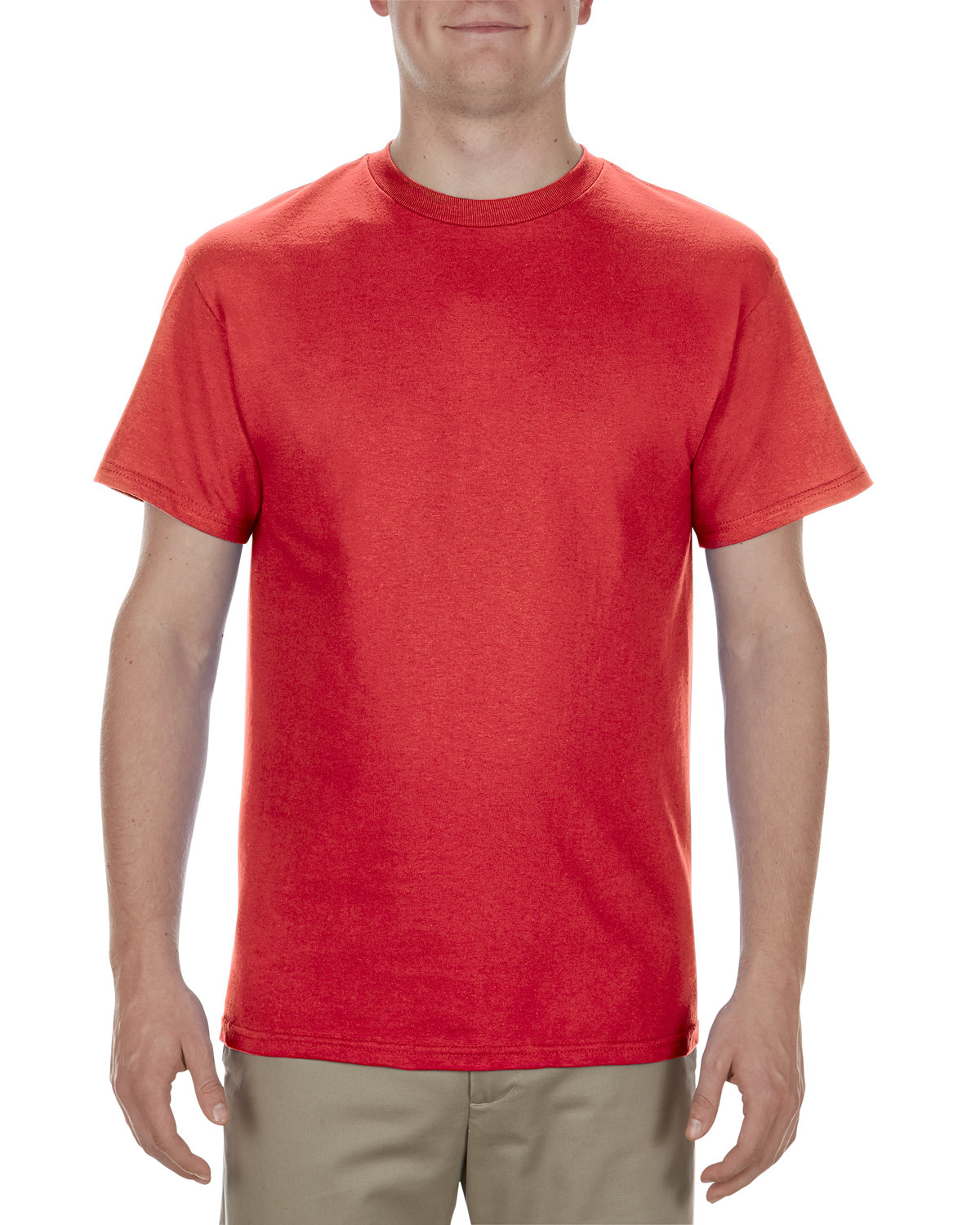 Alstyle Adult 5.1 oz., 100% Cotton T-Shirt RED
