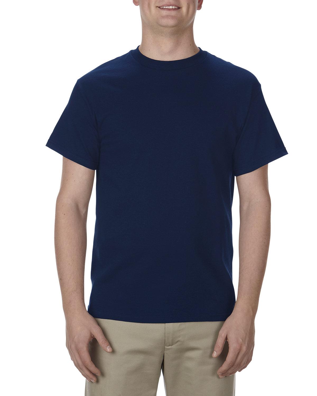 Alstyle Adult 5.1 oz., 100% Cotton T-Shirt NAVY