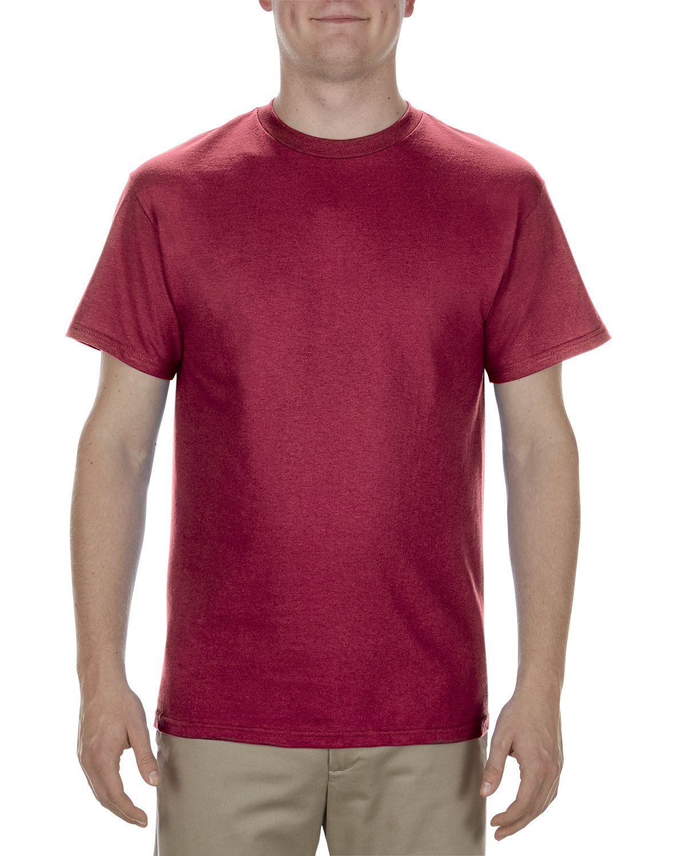 Alstyle Adult 5.1 oz., 100% Cotton T-Shirt CARDINAL